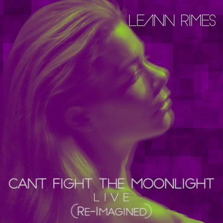 Can't Fight The Moonlight (Re-Imagined) Live is out now. Get your copy here: https://t.co/mGri4tKwTd https://t.co/iKqLJxn4pD