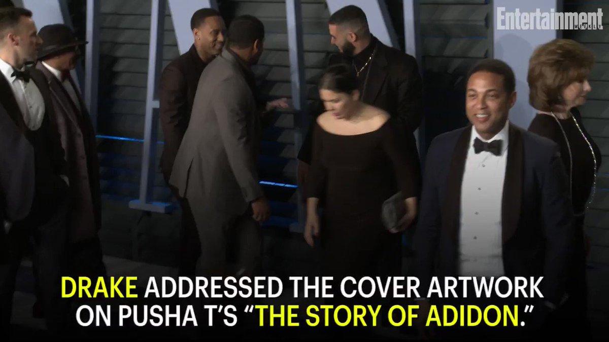 Drake has addressed the blackface image on Pusha T's 'The Story of Adidon':