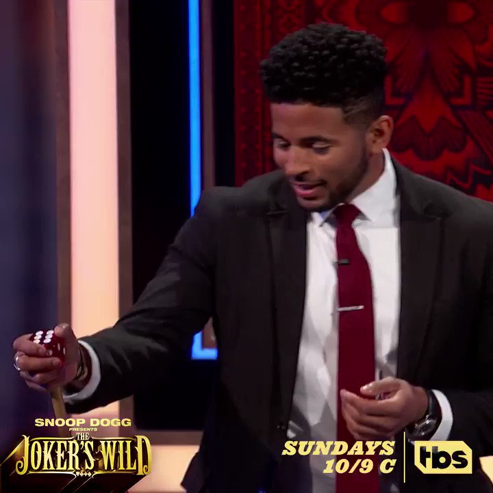 RT @JokersWildTBS: Watch a singer go against an account manager for big ????, NOW on #JokersWild! https://t.co/zVJZdcMfuF