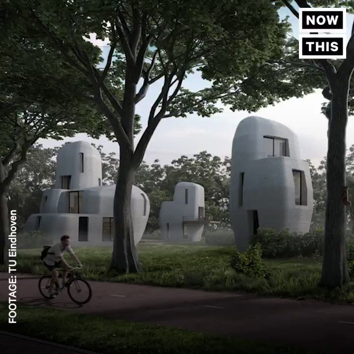 These 3D-printed homes will be the first to go beyond a prototype https://t.co/1ewDRcZDSW