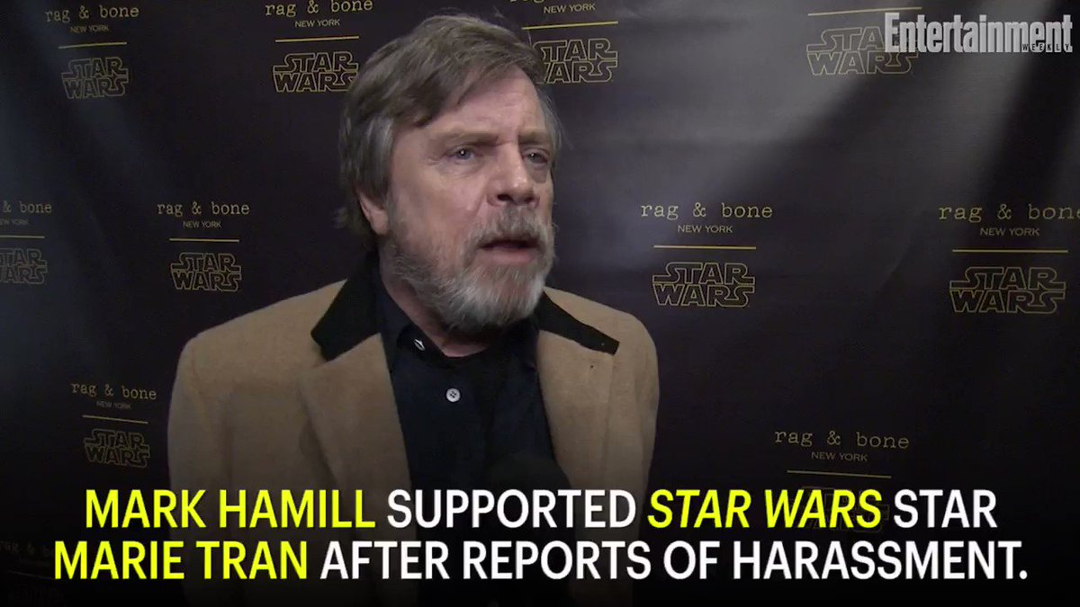 StarWars star Mark Hamill backs Kelly Marie Tran's after reports of harassment: