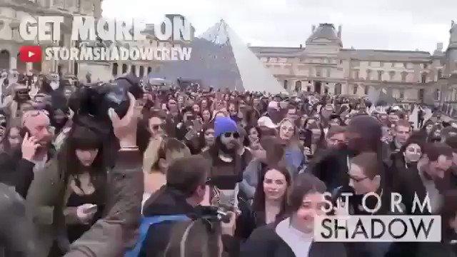 Just a little stroll in Paris ????????♂️????????♂️ #FBF https://t.co/c7t9FyS9Xt