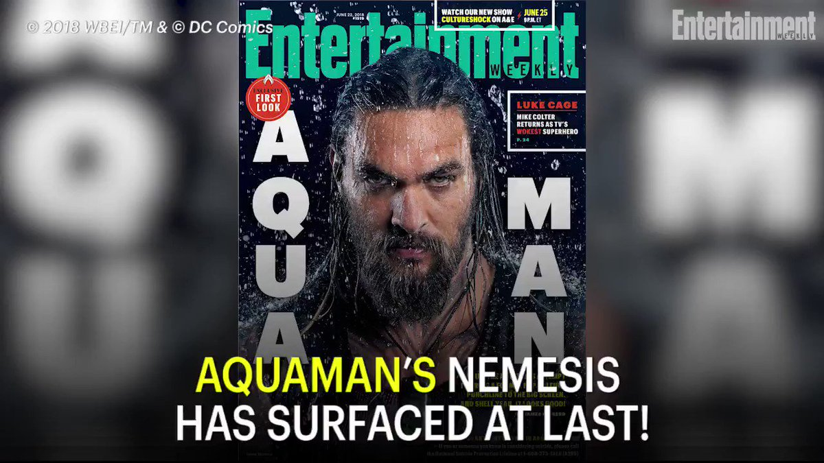 Get your first look at Black Manta in Aquaman: