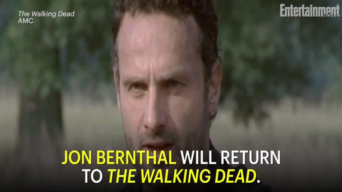 It's official, TheWalkingDead fans: Jon Bernthal will make an appearance in season 9!