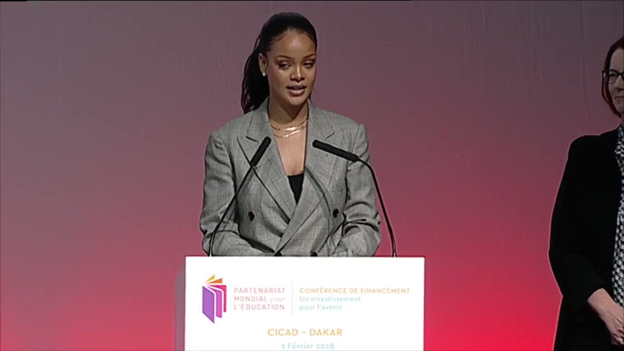 We can't agree more with GPE Global Ambassador, @rihanna. EVERY child, regardless of their gender, has a right to a QUALITY education. RT if you agree! https://t.co/nKKR7FgrH5