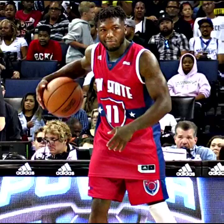 RT @Ballislife: Nate Robinson Is THE PEOPLE'S CHAMP! @TheBig3 @nate_robinson https://t.co/vR9sA7Z5IH