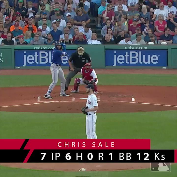 Sale made people look silly.   The @RedSox have won NINE straight. https://t.co/GjSWqvMzzE