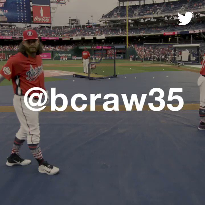 Tonight's All-Star starting SS: @bcraw35  #BCRAWesome | #AllStarGame | #SFGiants https://t.co/Vgqq30wIRW