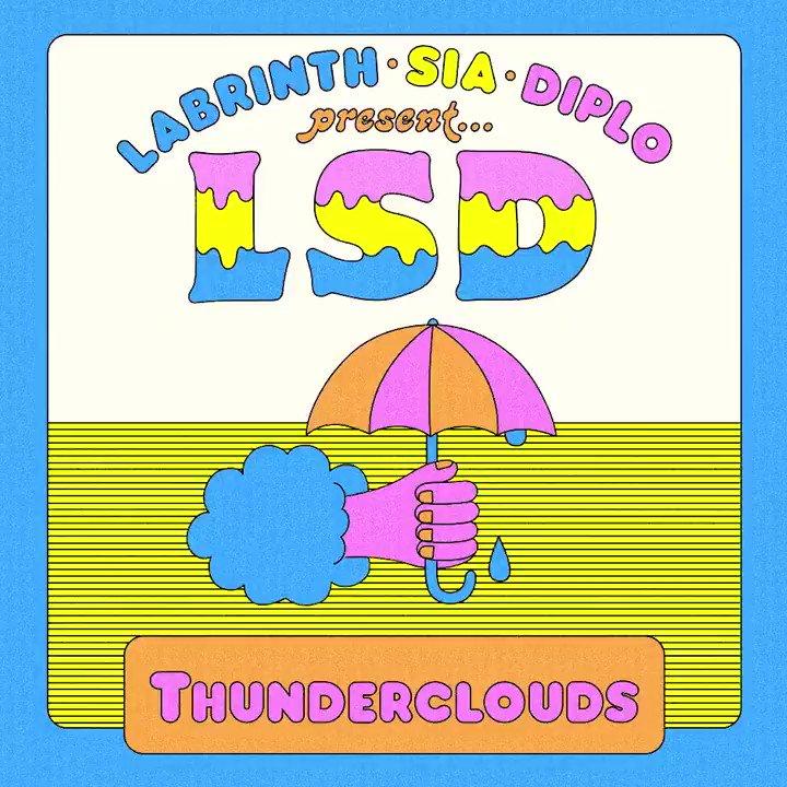RT @diplo: thunderclouds out now ⚡️????⚡️ @sia @labrinth #LSD https://t.co/9hQfGGJt8l https://t.co/prJSo5R2z5