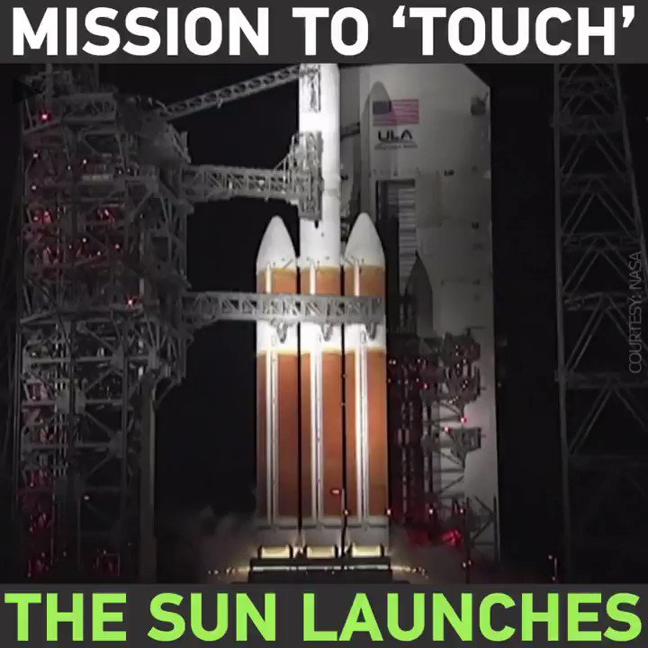 NASA plans to 'touch the sun' after successful launch