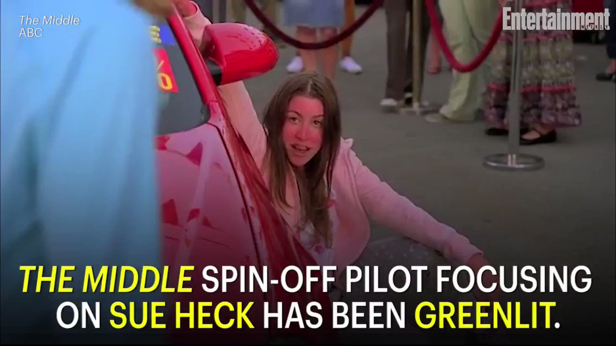 TheMiddle spin-off pilot about Sue Heck has been greenlit: