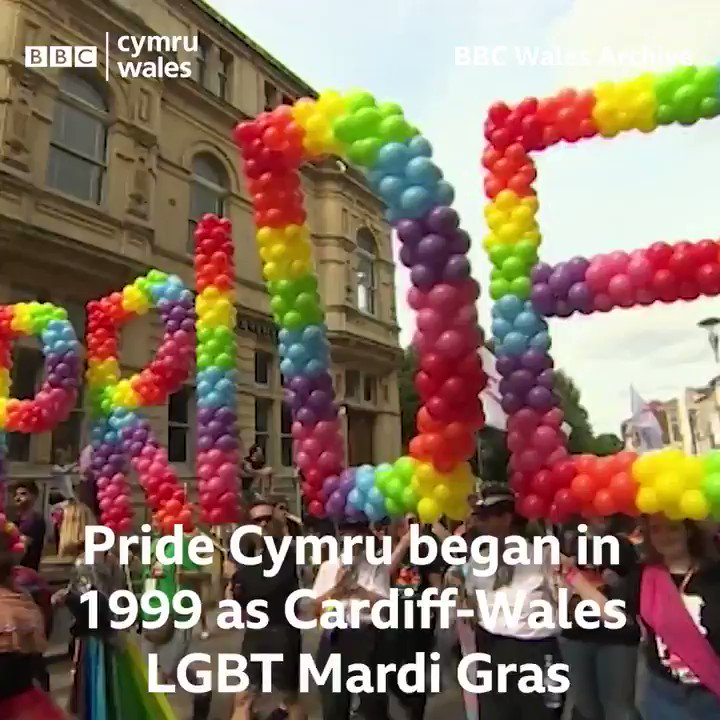 RT @BBCWales: The streets of Cardiff will be full of Pride today. #PrideCymru ????????????????????????????????️‍???? https://t.co/Ozv72nuMWe