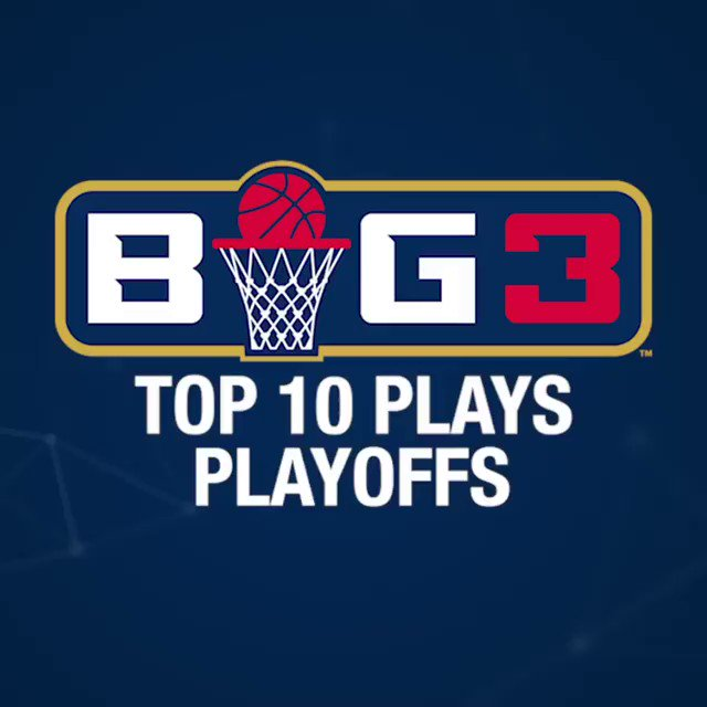 This should hold you over for a little while. Here are the top plays from @thebig3 playoffs in Dallas and Brooklyn. https://t.co/M2vsukf4Ub