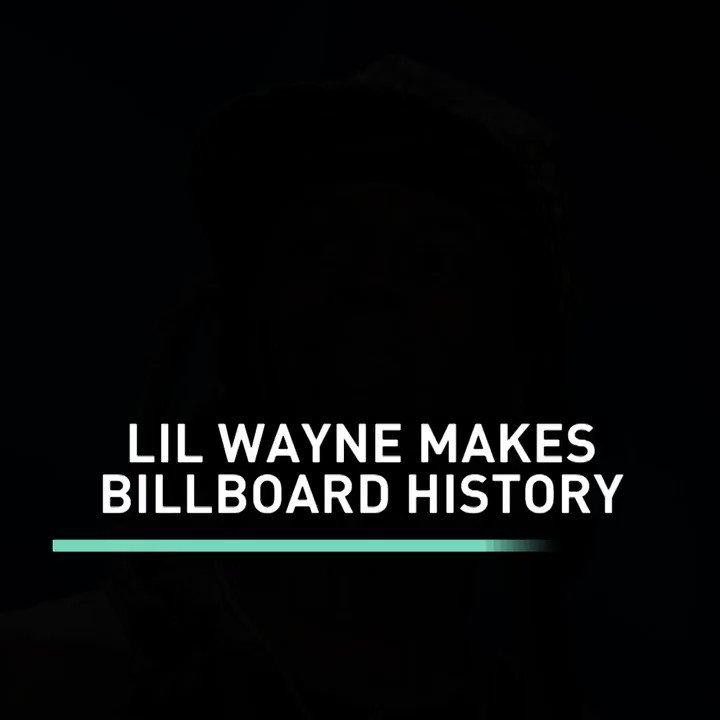 #LilWayne makes Billboard history. #BETBreaks https://t.co/pTJtDQedIq