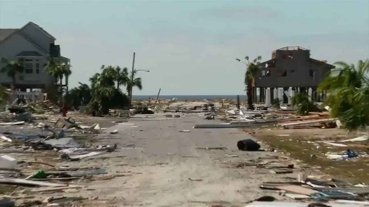 The beach town flattened by Hurricane Michael via @ReutersTV