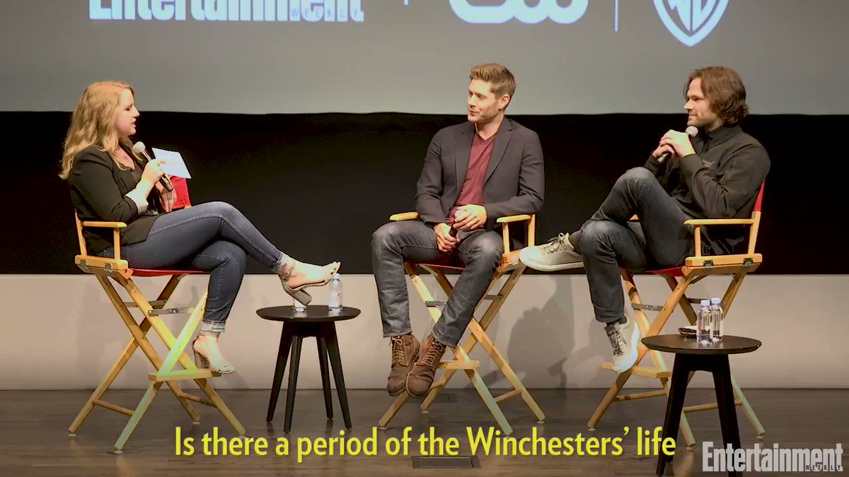 .@jarpad reveals the flashback he wants to see on Supernatural.