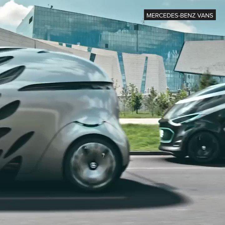 Mercedes made an autonomous electric van 🚐 https://t.co/F8GnenzgrG