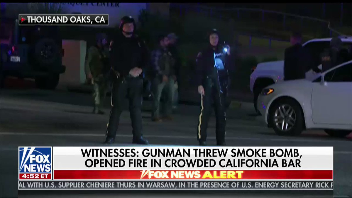 At least 11 shot, including sheriff's deputy — Jonathan Hunt has the latest from the scene of the California shooting @FoxFriendsFirst