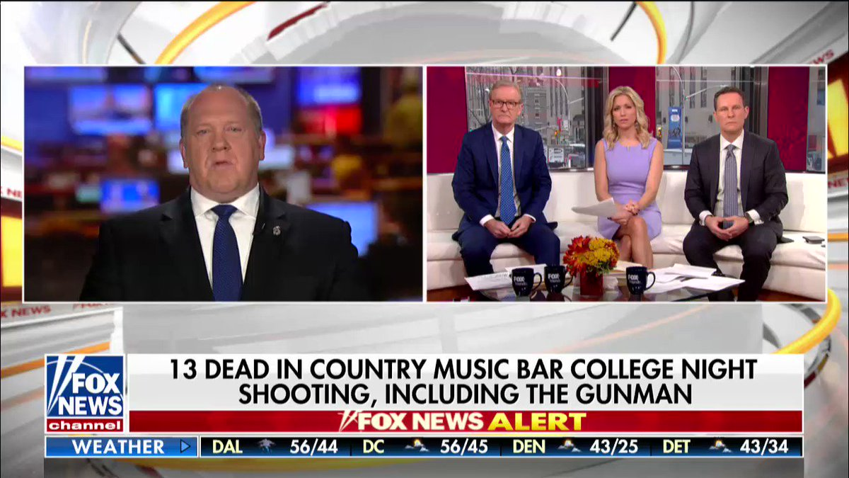 """Tom Homan: """"It's a tragedy each and every time."""""""