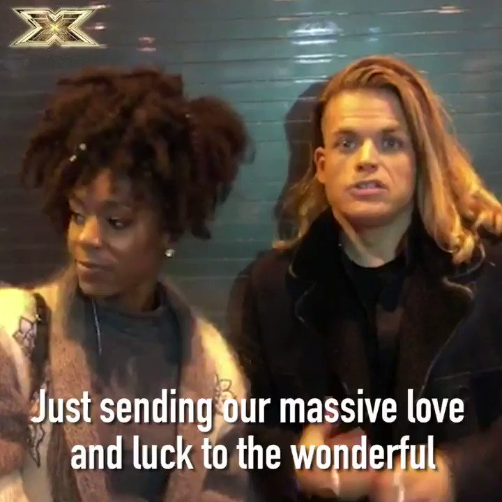 RT @TheXFactor: Feelin' the love here at The #XFactor tonight ❤️❤️❤️ @shanofficially @giovannispano5 ✨ https://t.co/ACk3hgorIn