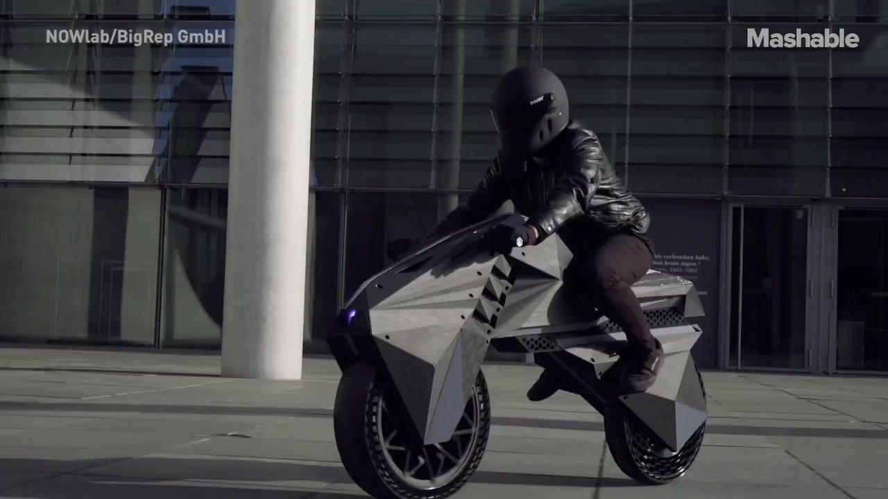This 3D-printed motorbike is sick 💯 https://t.co/bkZ3SMyJLN
