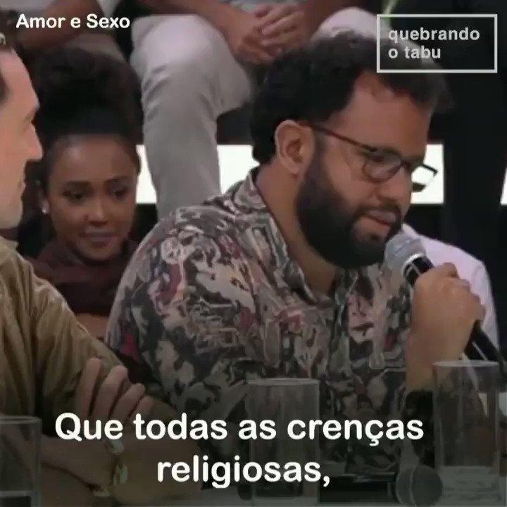 """Pastor, pra mim, é isso ❤️❤️  Esse é o @pastorhenriquev com a sua """"Oração da Felicidade"""" no Amor e Sexo."""