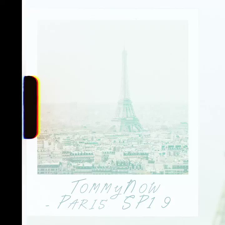 SPRING 2019 #TOMMYNOW が、パリコレに登場! https://t.co/aw2onFNcl4