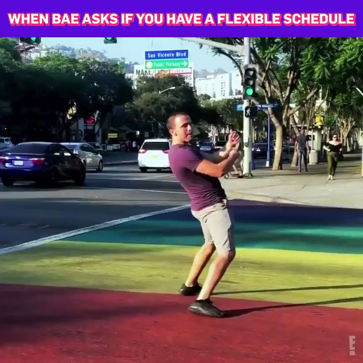 Flexible schedule = more time to watch the first episode of DatingNoFilter!