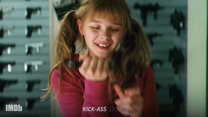 Whoa. Remember when Chloë Grace Moretz was in Happy birthday,