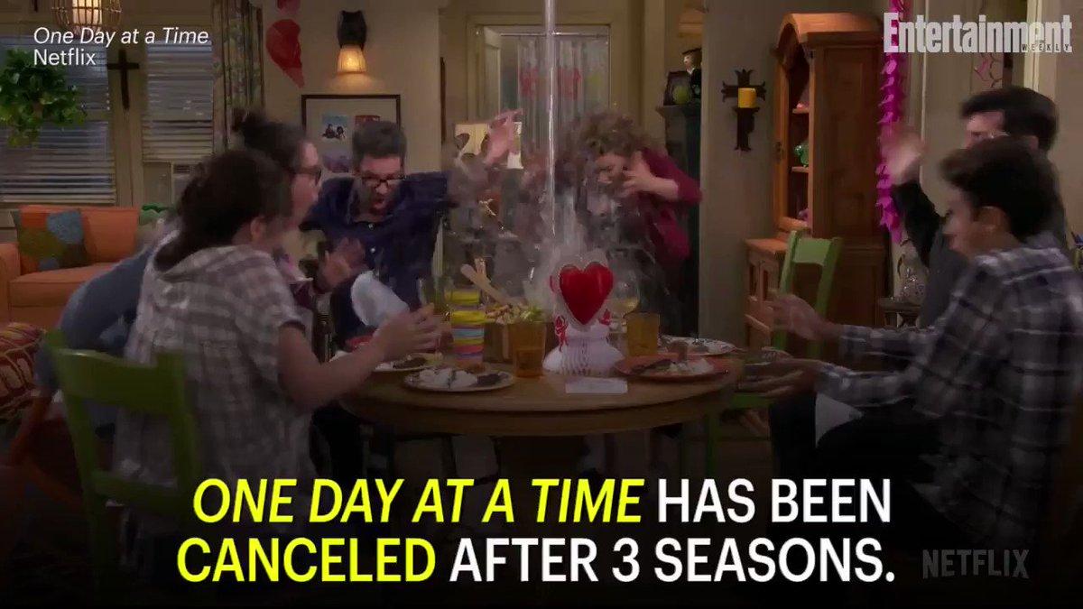 OneDayAtATime has been canceled after three seasons on Netflix: