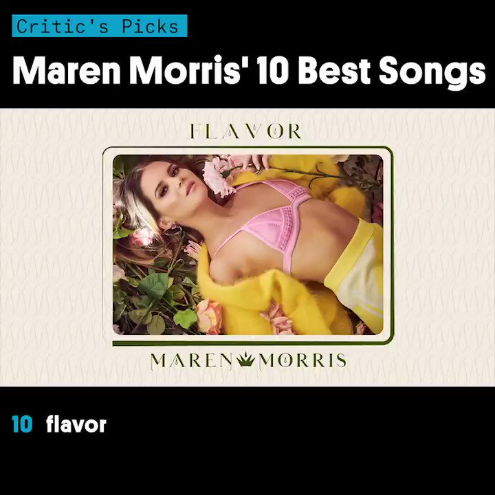 What's your favorite @MarenMorris song? 💞