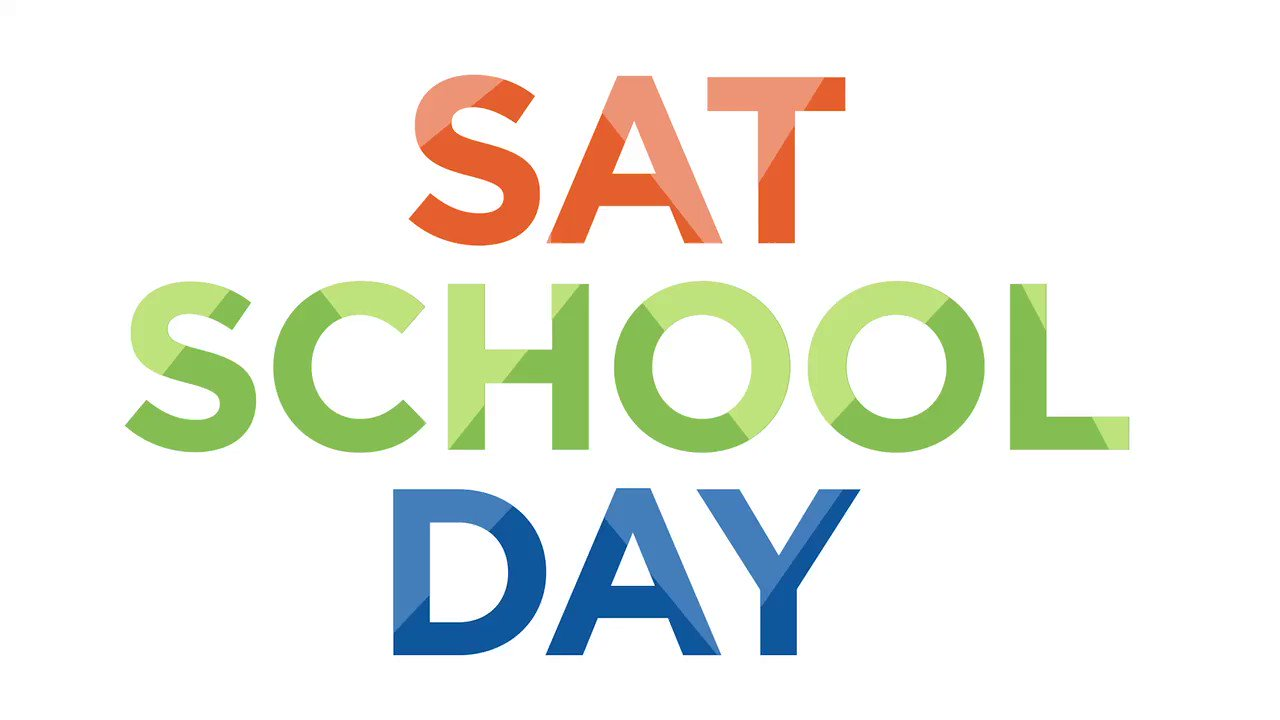 RT @NYCSchools: Thousands of juniors across the City are taking the SAT for free at their schools this Wednesday during #SATSchoolDay! Trust yourself and stay positive, you got this! #CollegeAccessforAll https://t.co/7F6aK6gDVm