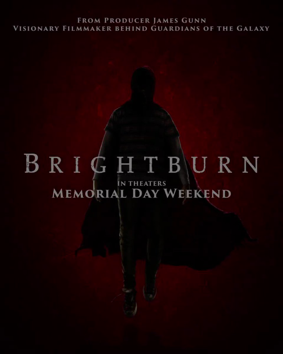 The birth of a new genre. #Brightburn in theaters Memorial Day weekend. https://t.co/NuYPa9vCx6
