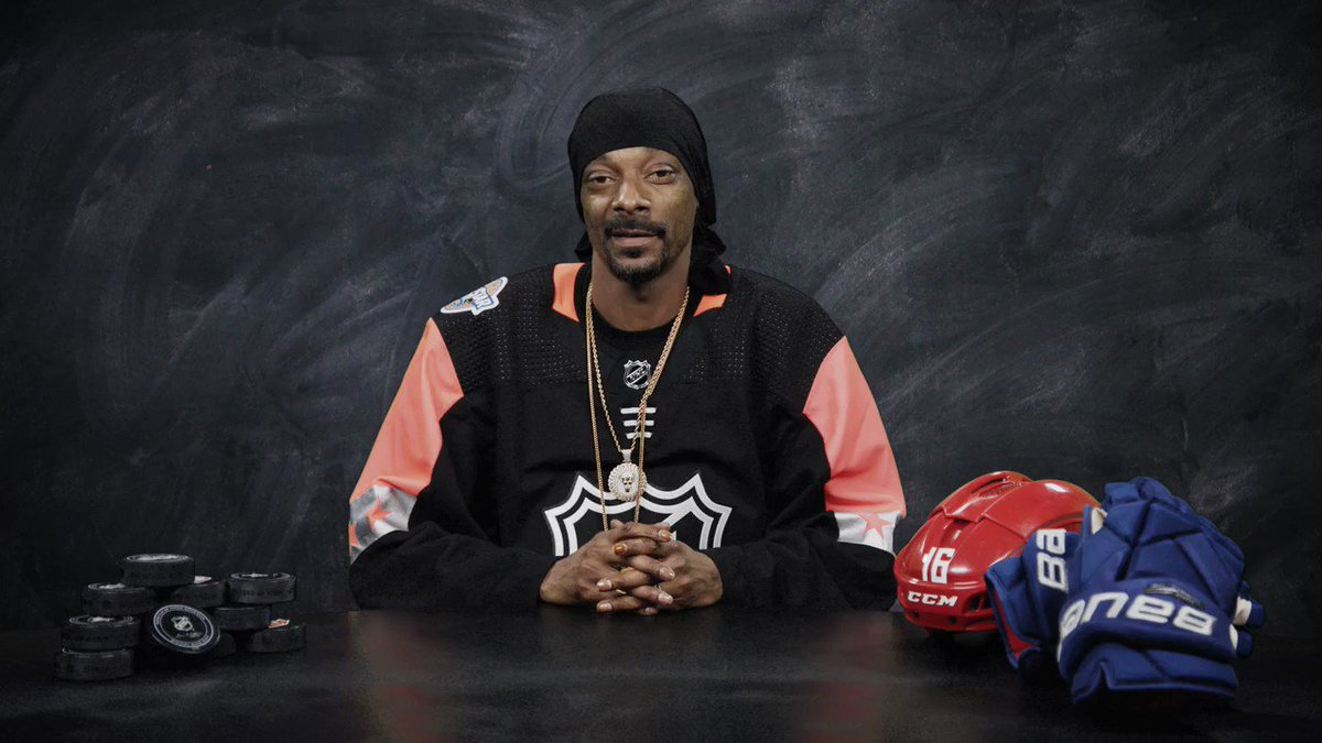 RT @NHL: Uncle @SnoopDogg is always droppin' knowledge!   The Professor of Pucks explains hockey slang. ???? https://t.co/DP3OFABKOE