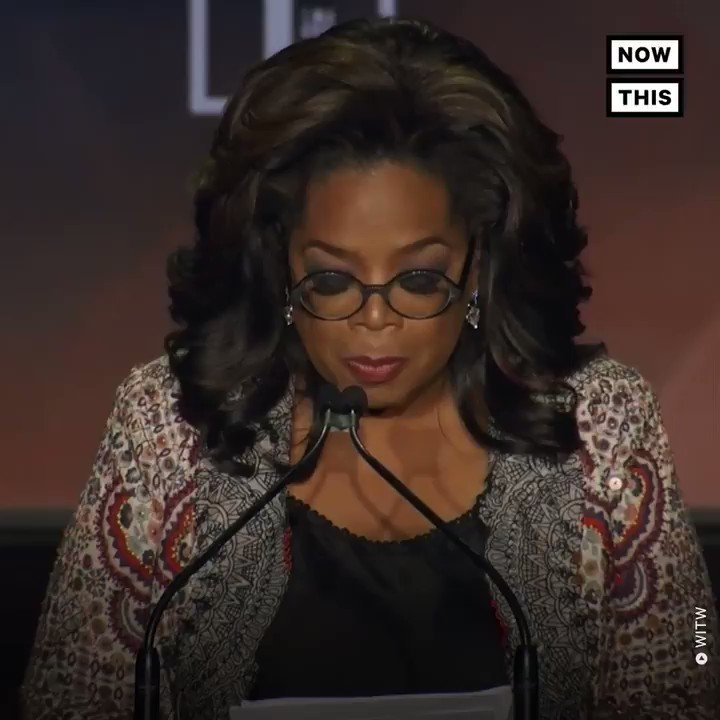 Oprah's advice for young women: 'Save yourself. And then offer what you know to help save your family. And then your community. And then your world.'  #WITW (via @WomenintheWorld) https://t.co/IaHPWSRi8M
