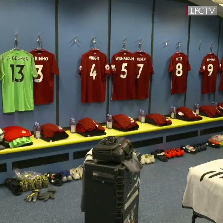 Inside our dressing room for the afternoon. 👌  #CARLIV https://t.co/tZoUzqKUqu