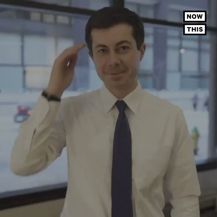 RT @nowthisnews: Mayor @PeteButtigieg was given a 'sign language name' and responded with a video in ASL https://t.co/4SMq0QDd1u
