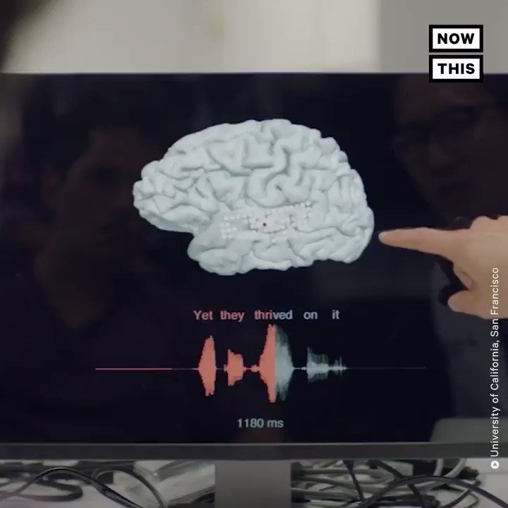 This device turns brain signals into spoken sentences for people who are unable to speak https://t.co/HDI5ajPuSR