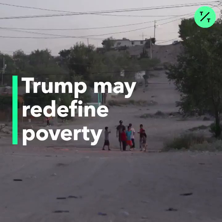 The Trump administration may redefine the poverty line, putting Americans living on the margins at risk of losing access to welfare programs https://t.co/at6UWtfJxg