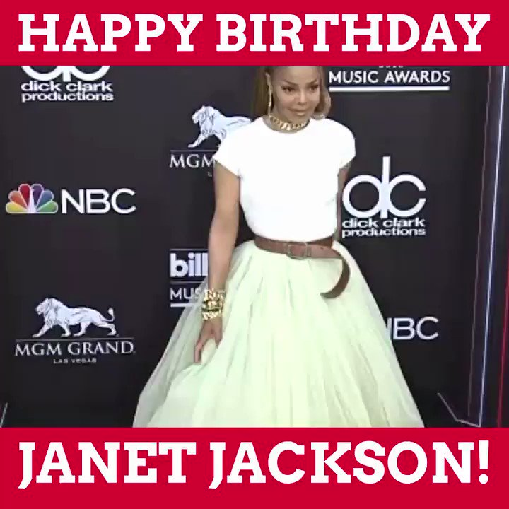 RT @iHeartRadio: Happy Birthday to the incredible @JanetJackson! ???? https://t.co/BkZ4zNnx1x