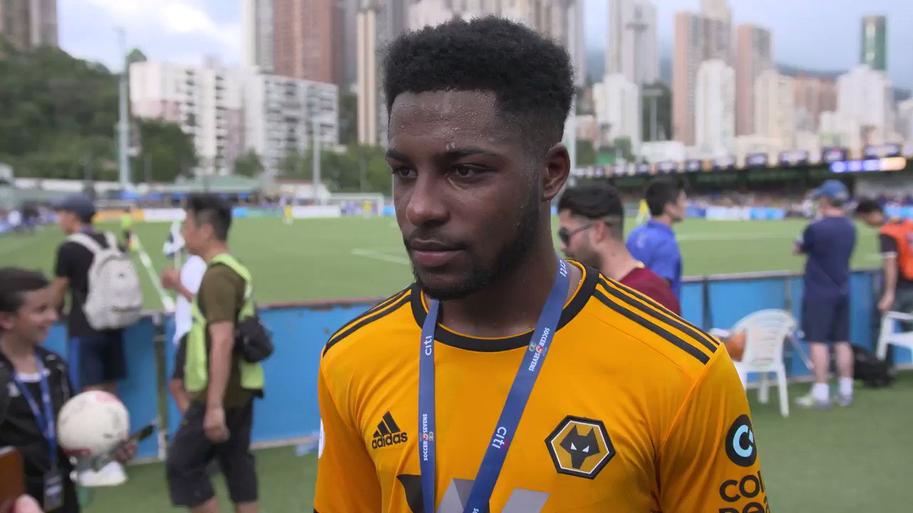 .@CameronJohn_ reflects on the victory over @LCFC which earned Wolves the @hksoccer7s Shield. #WolvesAcademy   🗣️🎓 https://t.co/kTCv9ljKzP