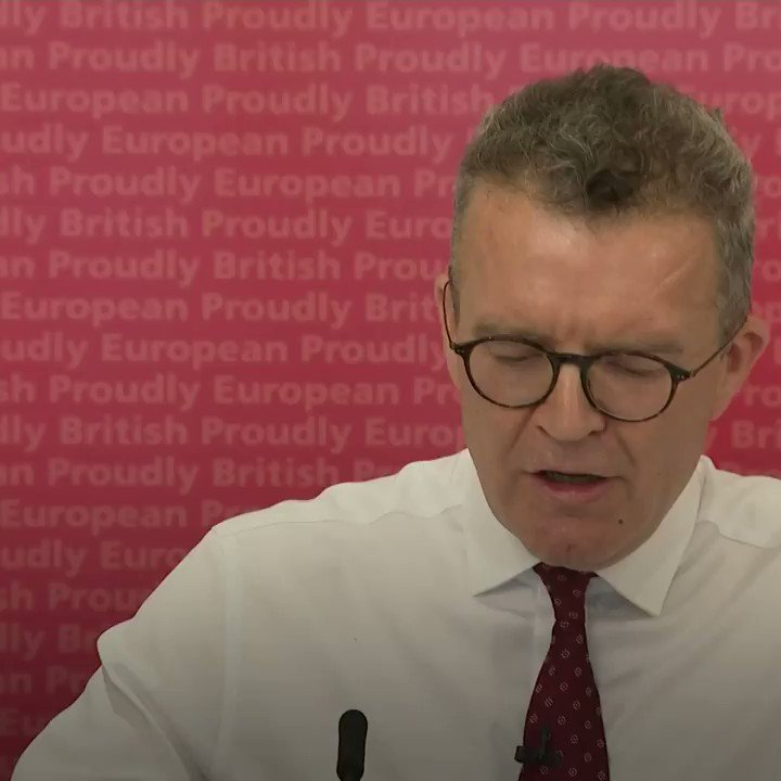 """""""Our members are Remain, our values are Remain, our hearts are Remain.""""  Tom Watson says he's met Labour supporters """"with tears in their eyes"""" who won't vote for the party now because of its stance on Brexit. https://t.co/OpcliVh7XT"""