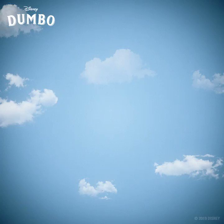 RT @Dumbo: The sky's the limit when you soar up high! ☁️ #Dumbo https://t.co/LEaUhi2NI7