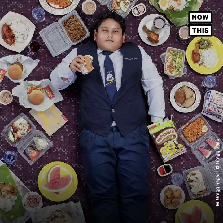 RT @nowthisnews: This photo series shows what different kids around the world ate for an entire week https://t.co/67GzS4pznO
