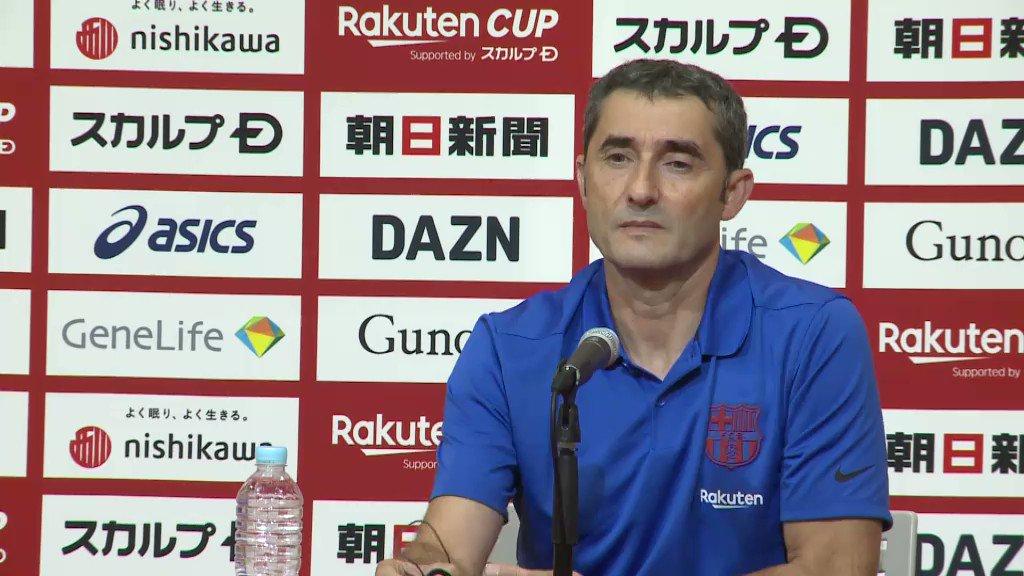 """Valverde:  🗣 """"Griezmann todavía tiene que habituarse al juego del equipo"""" 🗣  """"Siempre tiene malas ideas para el rival; esperamos mucho de él"""" https://t.co/rxeoUBXpbA"""