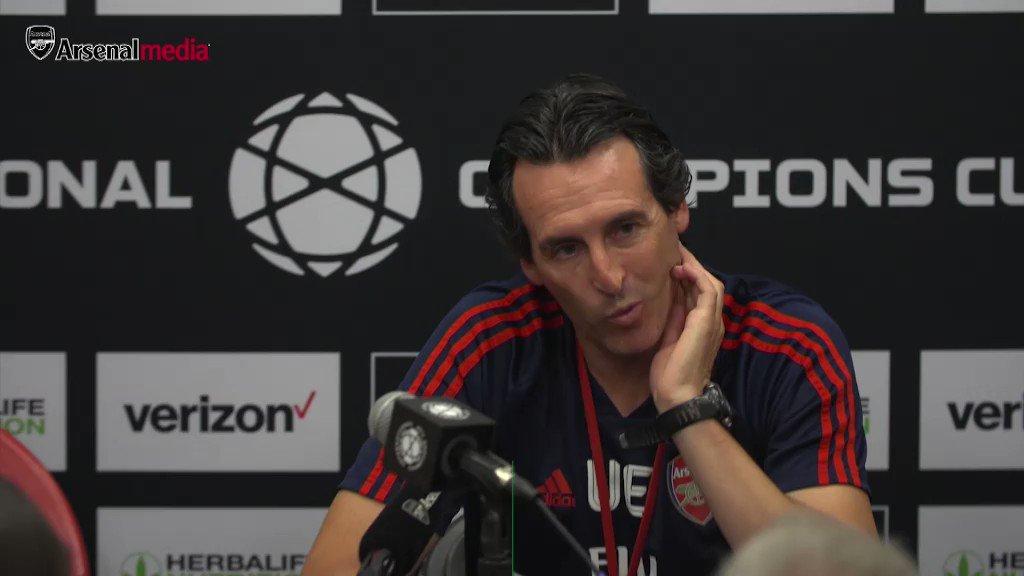 """Emery:  🗣 """"Ceballos es muy bueno; puede jugar de '8' o de '10'"""" https://t.co/BU7W6IkpIf"""