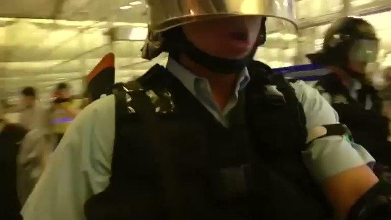 China says Hong Kong protests 'near terrorism' as airport reopens. Read more: