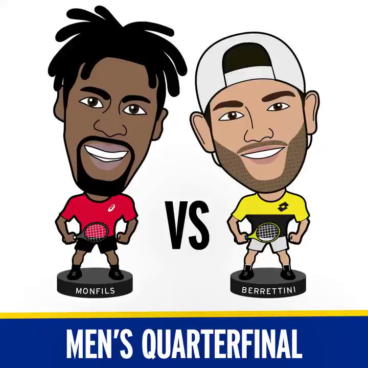 Personality + for this match up!   Who wins between Monfils and Berrettini?   #USOpen https://t.co/wz0ruHAkkk