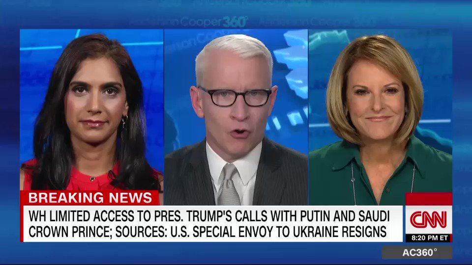 """""""We can start from the premise that what we're seeing once again is that Donald Trump is toxic,"""" says @CarlBernstein responding to reports that the special envoy to Ukraine has resigned."""