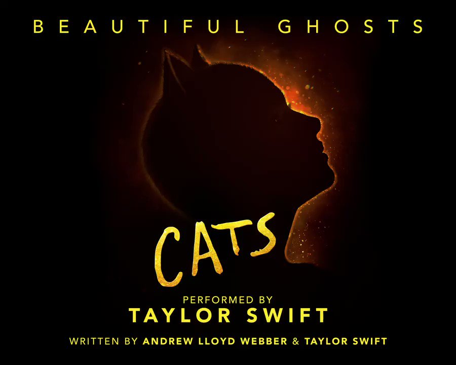 🚨THIS IS NOT A DRILL KITTENS🚨 #BeautifulGhosts is OUT NOW✨ The @taylorswift13 and @OfficialALW collab featured in #CatsMovie  In theaters December 20 Listen here now: